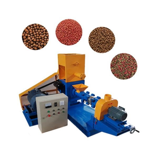 Stainless Steel Automatic Dry Dog Cat Fish Pet Feed Pellet Manufacturing Machine