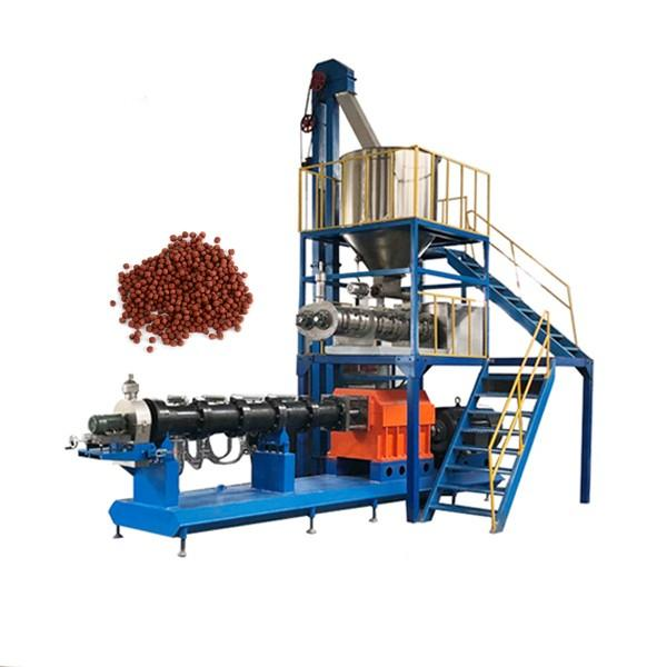 Complete Feed Plant Animal Fish Feeding Granules Manufacturing Machine